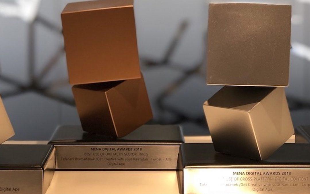 Digital Ape: 2018 MENA Digital Awards winners