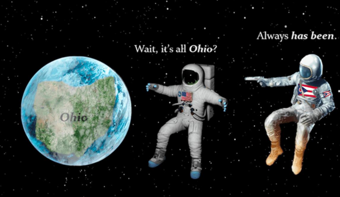 'Wait. It's all Ohio? Always has been' Meme